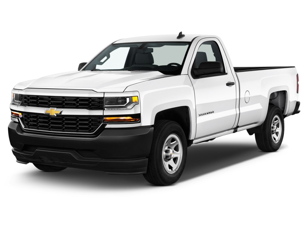 image 2016 chevrolet silverado 1500 2wd reg cab 133 0 work truck angular front exterior view. Black Bedroom Furniture Sets. Home Design Ideas