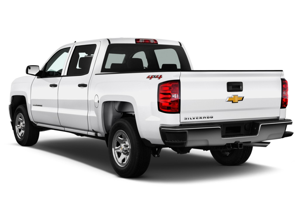 image 2016 chevrolet silverado 1500 4wd crew cab 143 5 ls angular rear exterior view size. Black Bedroom Furniture Sets. Home Design Ideas
