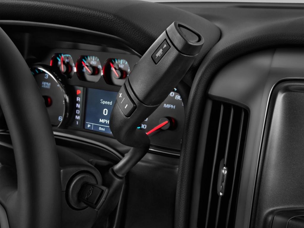 "Image: 2016 Chevrolet Silverado 2500HD 2WD Double Cab 158.1"" Work Truck Gear Shift, size: 1024 x ..."