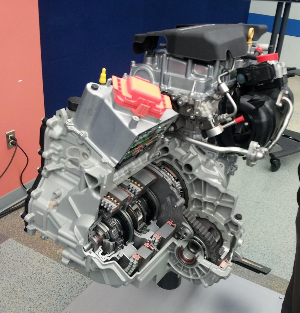 Chevrolet Volt 2016: Image: 2016 Chevrolet Volt Powertrain Detail