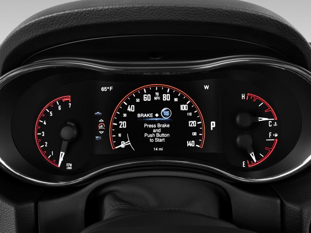 Image: 2016 Dodge Durango 2WD 4-door Limited Instrument ...