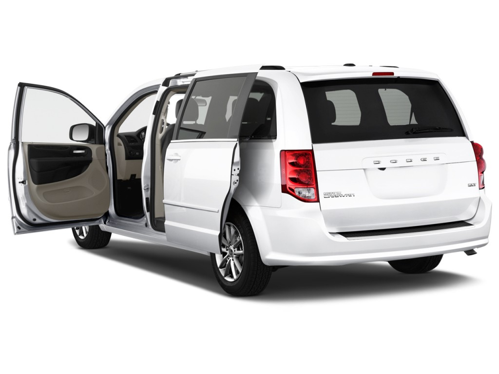 Image: 2016 Dodge Grand Caravan 4-door Wagon SXT Plus Open Doors, size ...