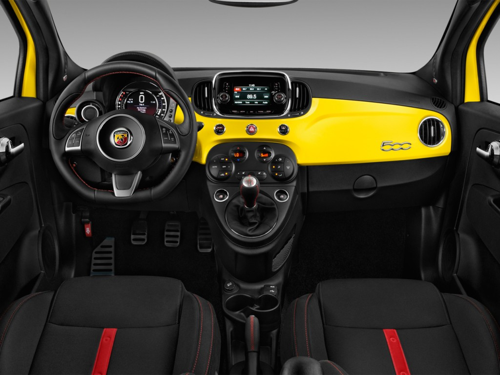 Image 2016 Fiat 500 2 Door Hb Abarth Dashboard Size