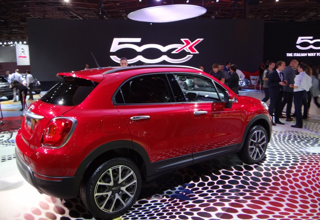 image 2016 fiat 500x 2014 paris auto show size 1024 x 703 type gif posted on october 2. Black Bedroom Furniture Sets. Home Design Ideas
