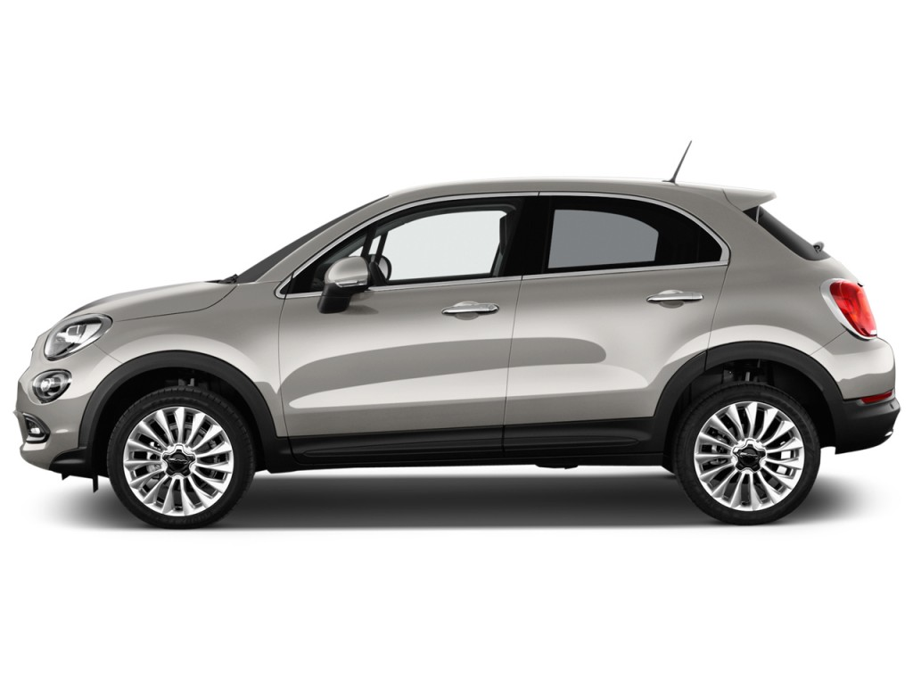 image 2016 fiat 500x fwd 4 door lounge side exterior view