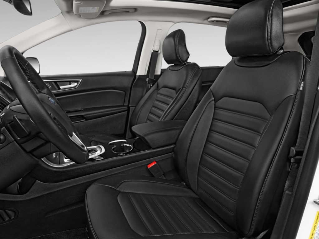 Image 2016 ford edge 4 door sel fwd front seats size for Ford motor company 10k 2016