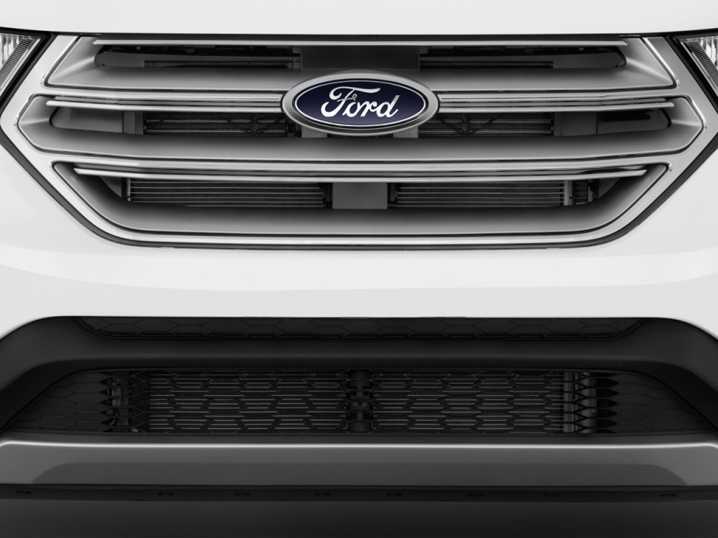 Image 2016 ford edge 4 door sel fwd grille size 1024 x for Ford motor company 10k 2016