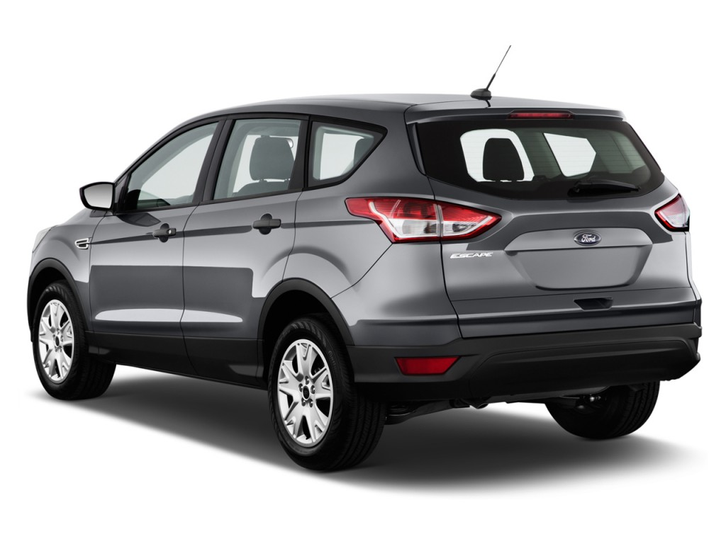Image 2016 Ford Escape Fwd 4 Door S Angular Rear Exterior