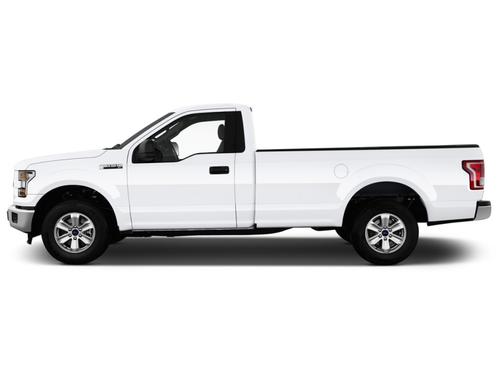 "Image: 2016 Ford F-150 2WD Reg Cab 122.5"" XL Side Exterior View, size"