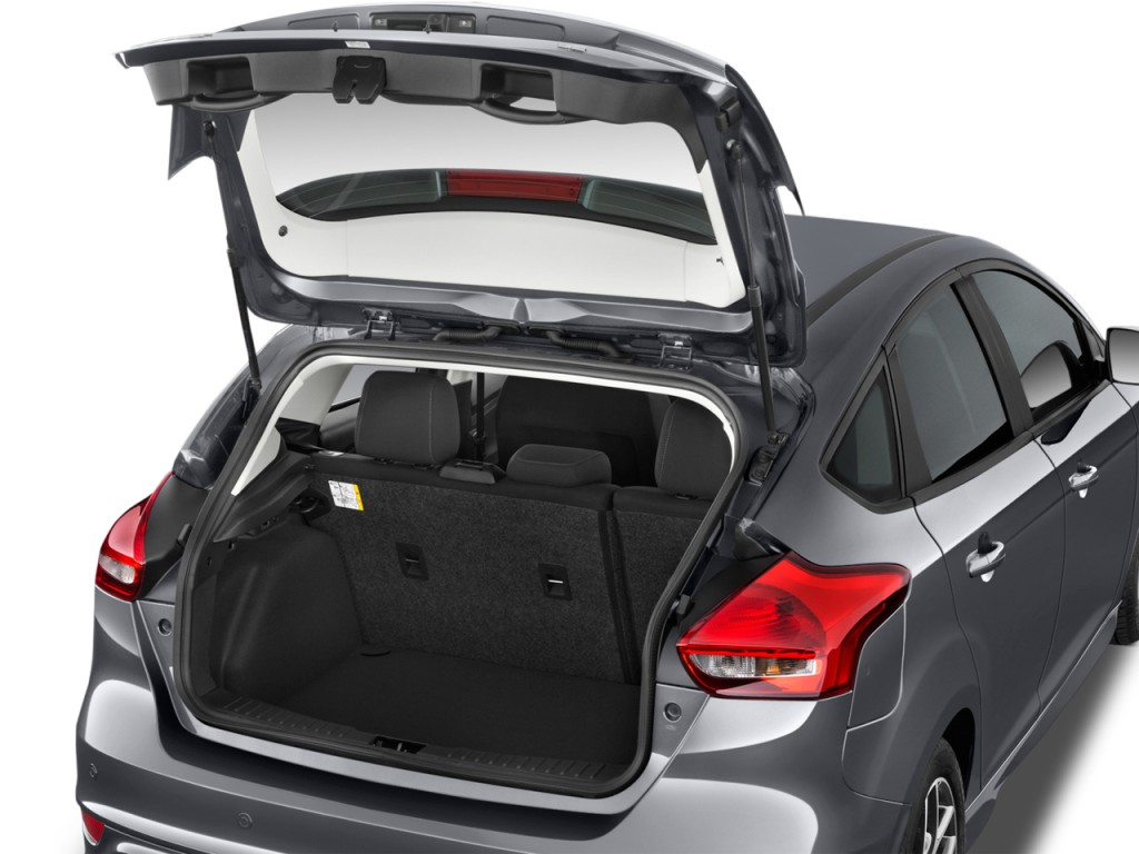 Image 2016 Ford Focus 5dr Hb Se Trunk Size 1024 X 768