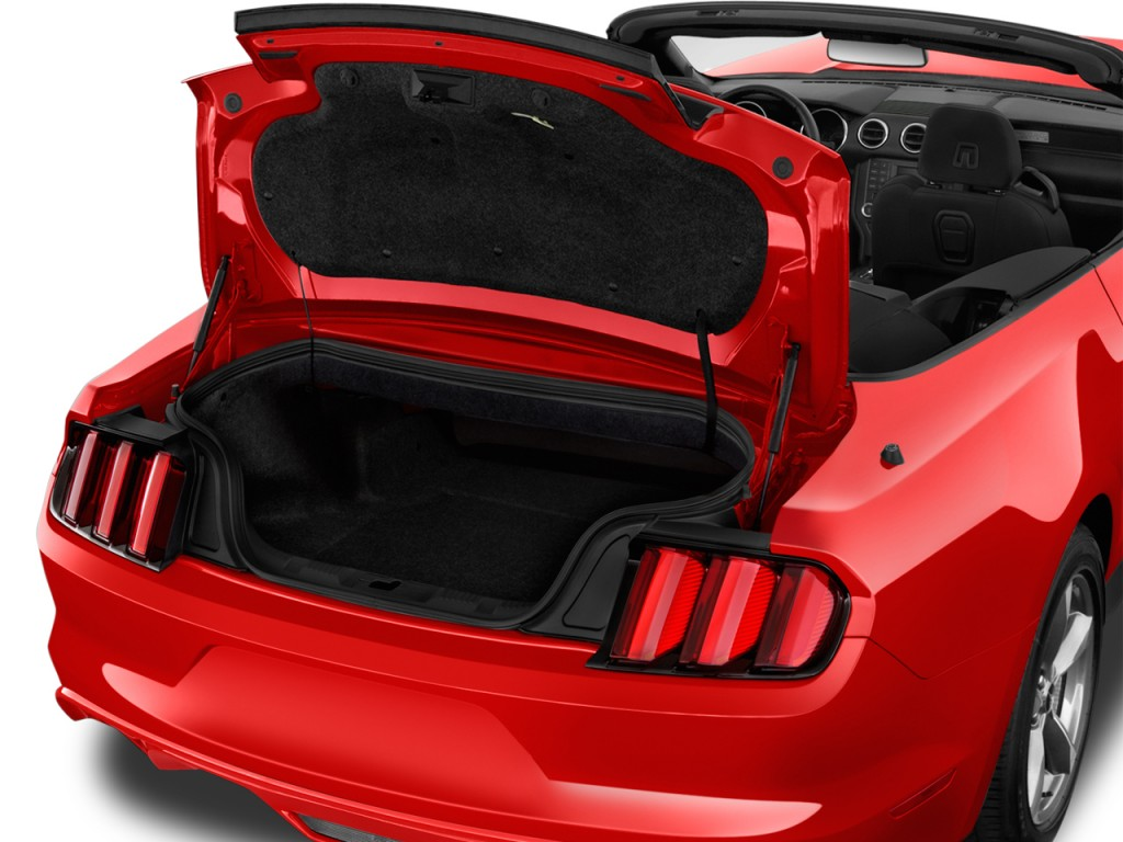 image 2016 ford mustang 2 door convertible v6 trunk size 1024 x 768 type gif posted on. Black Bedroom Furniture Sets. Home Design Ideas