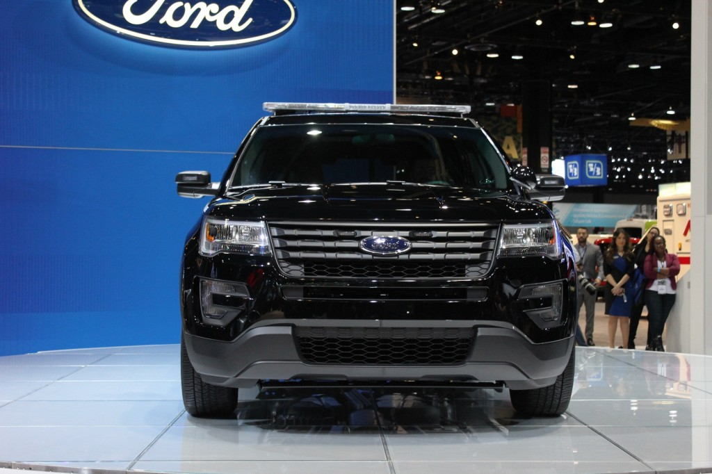 2016 ford police interceptor utility 2015 chicago auto show live photos ford explorer blacked out - Ford Explorer Blacked Out