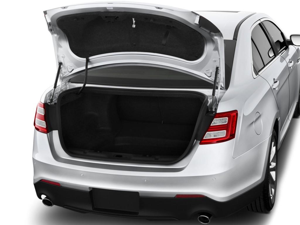 image 2016 ford taurus 4 door sedan limited fwd trunk. Black Bedroom Furniture Sets. Home Design Ideas