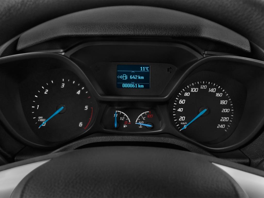 Image 2016 Ford Transit Connect Swb Xlt Instrument