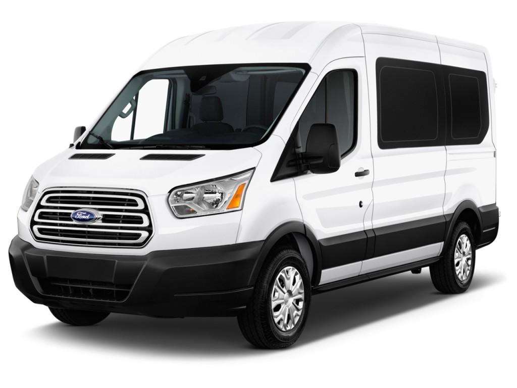 image 2016 ford transit wagon t 150 130 med roof xlt sliding rh dr angular front exterior view. Black Bedroom Furniture Sets. Home Design Ideas