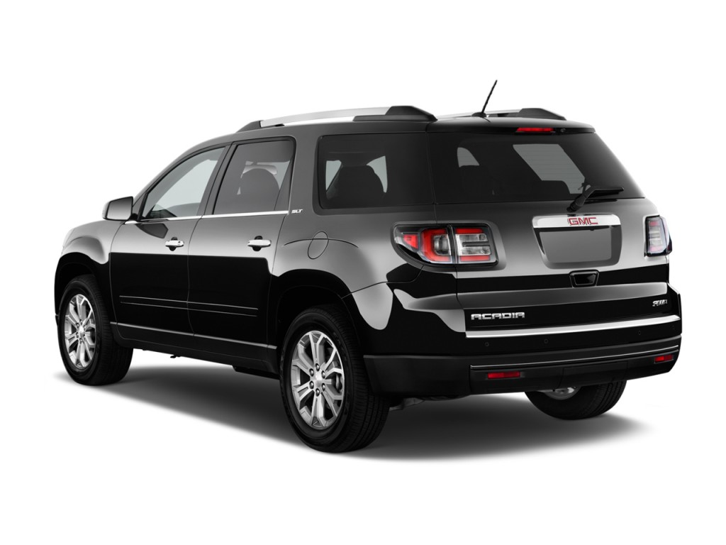 image 2016 gmc acadia fwd 4 door slt w slt 1 angular rear exterior view size 1024 x 768 type. Black Bedroom Furniture Sets. Home Design Ideas