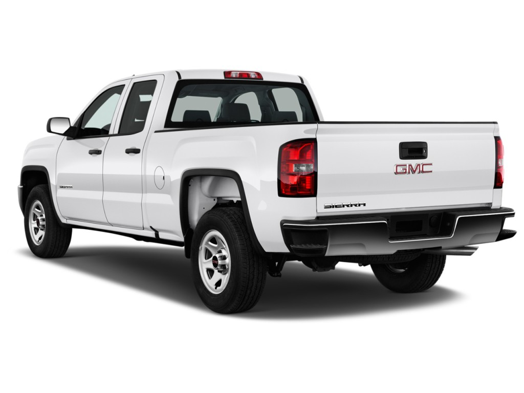 image 2016 gmc sierra 1500 2wd double cab 143 5 angular rear exterior view size 1024 x 768. Black Bedroom Furniture Sets. Home Design Ideas