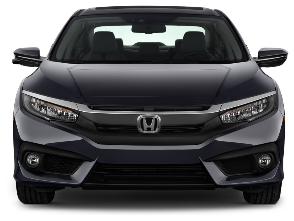 Image 2016 Honda Civic 4 Door Cvt Touring Front Exterior View Size 1024 X 768 Type Gif