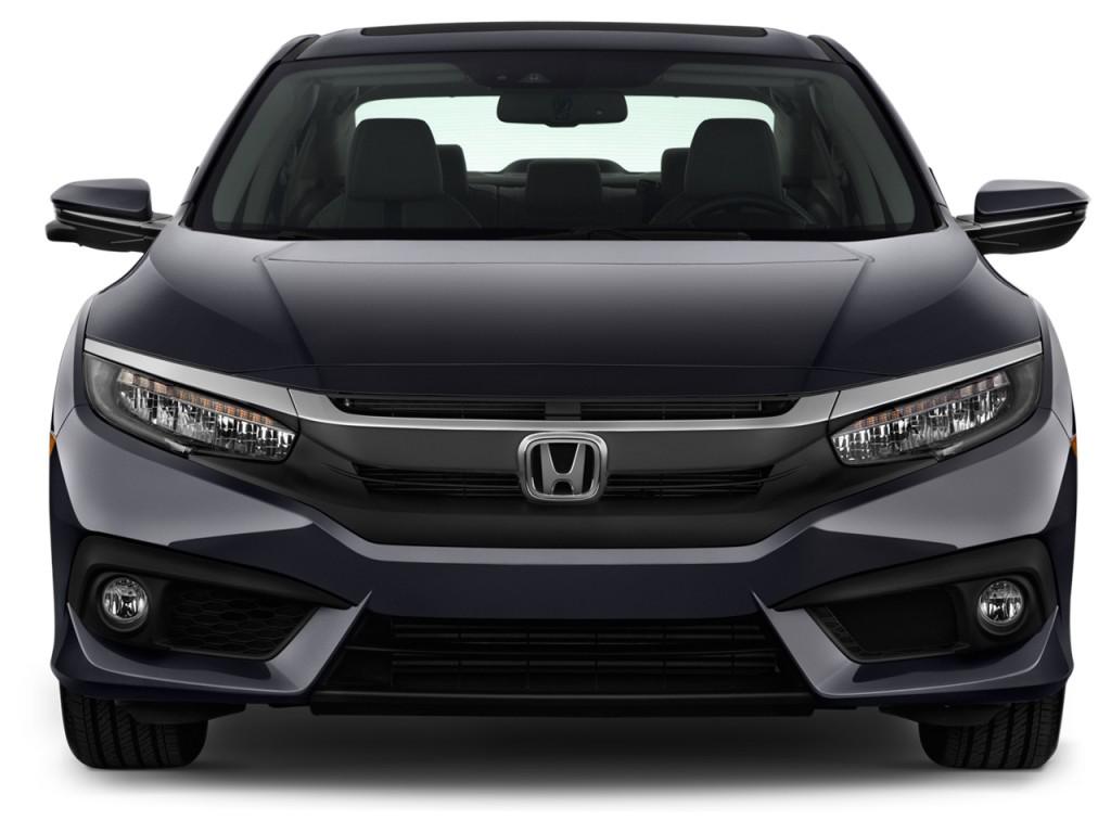 Image 2016 Honda Civic 4 Door Cvt Touring Front Exterior