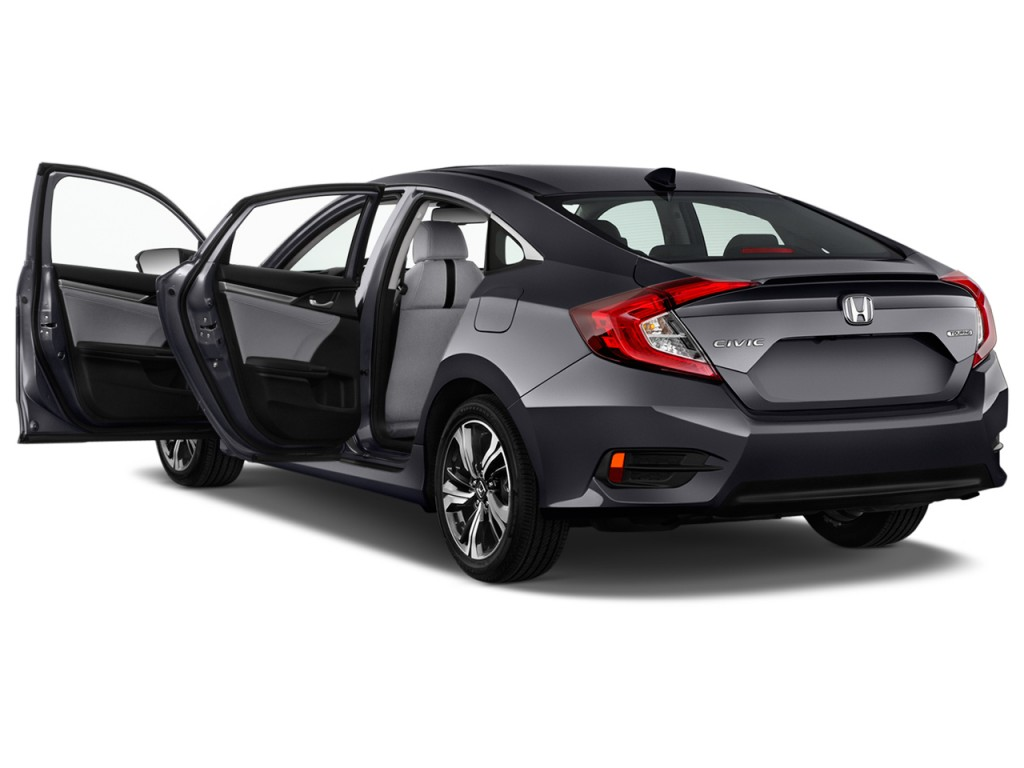image 2016 honda civic 4 door cvt touring open doors. Black Bedroom Furniture Sets. Home Design Ideas