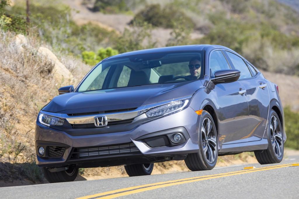 2016 Honda Civic video road test