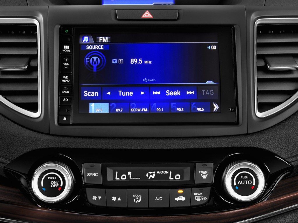Image 2016 Honda Cr V 2wd 5dr Touring Audio System Size 1024 X 768 Type Gif Posted On