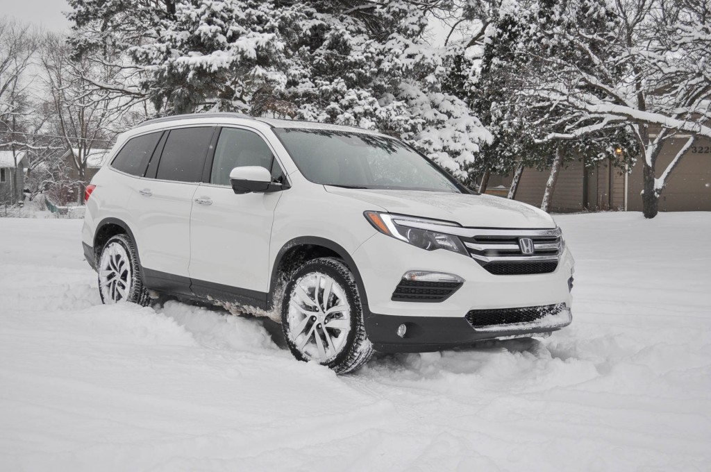 2016 Honda Pilot long-term road test: handling winter weather