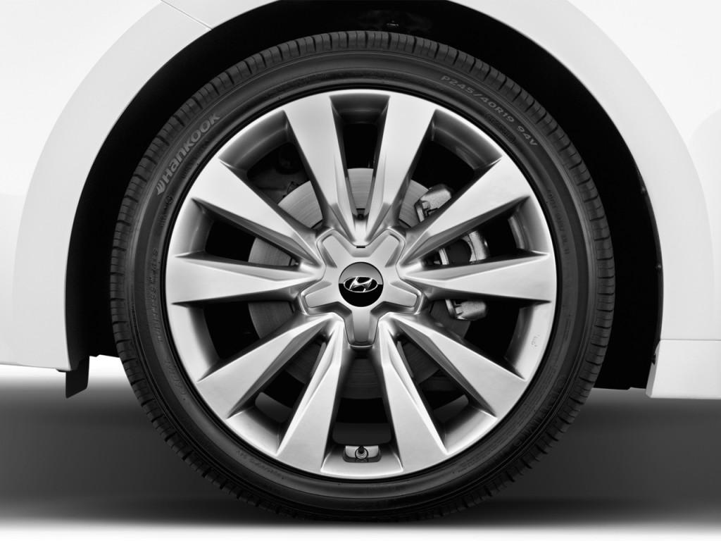Image 2016 Hyundai Azera 4 Door Sedan Limited Wheel Cap