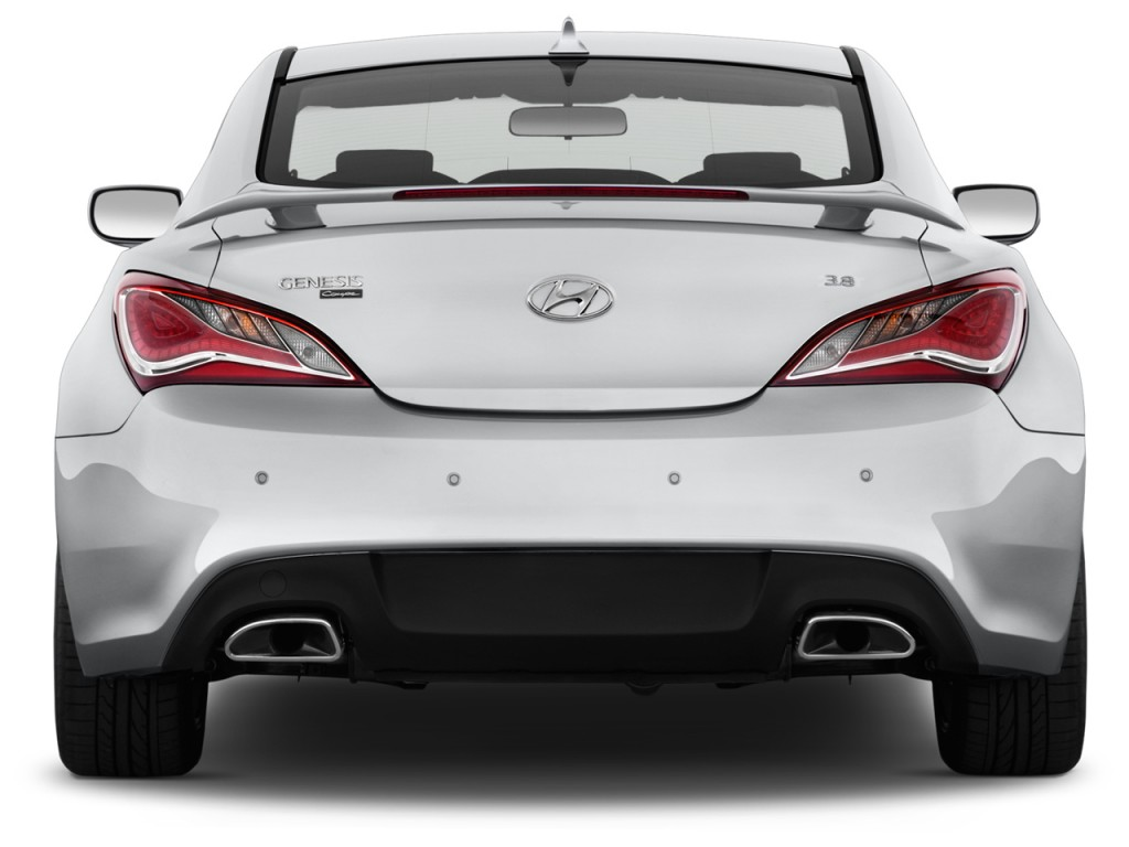 Image 2016 Hyundai Genesis Coupe 2 Door 3 8l Auto Base W Black Seats Rear Exterior View Size