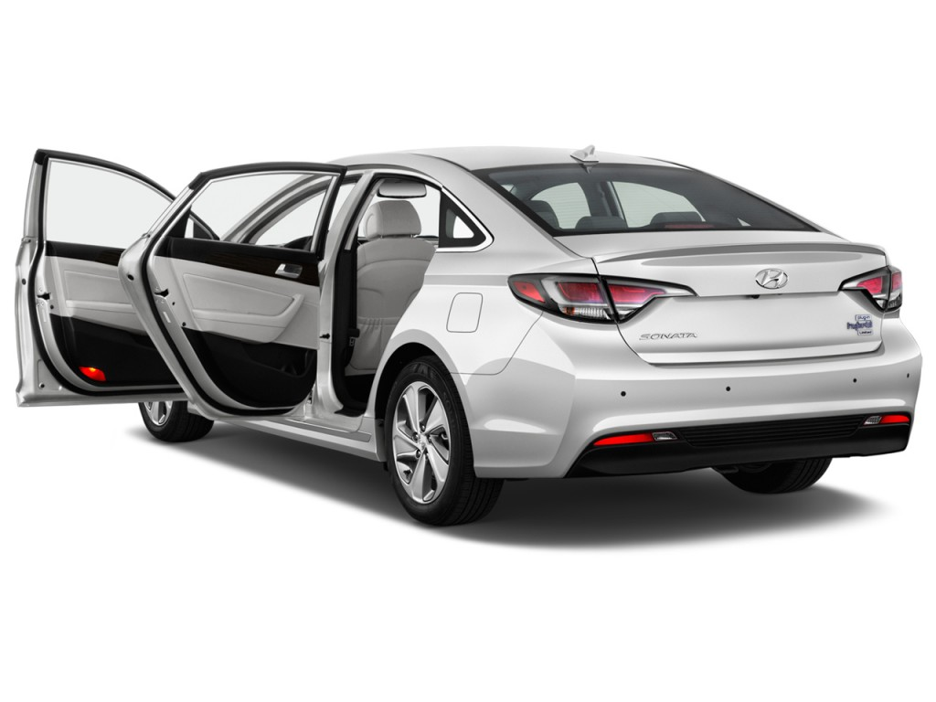 Image: 2016 Hyundai Sonata Plug-In Hybrid 4-door Sedan Limited Open Doors, size: 1024 x 768 ...
