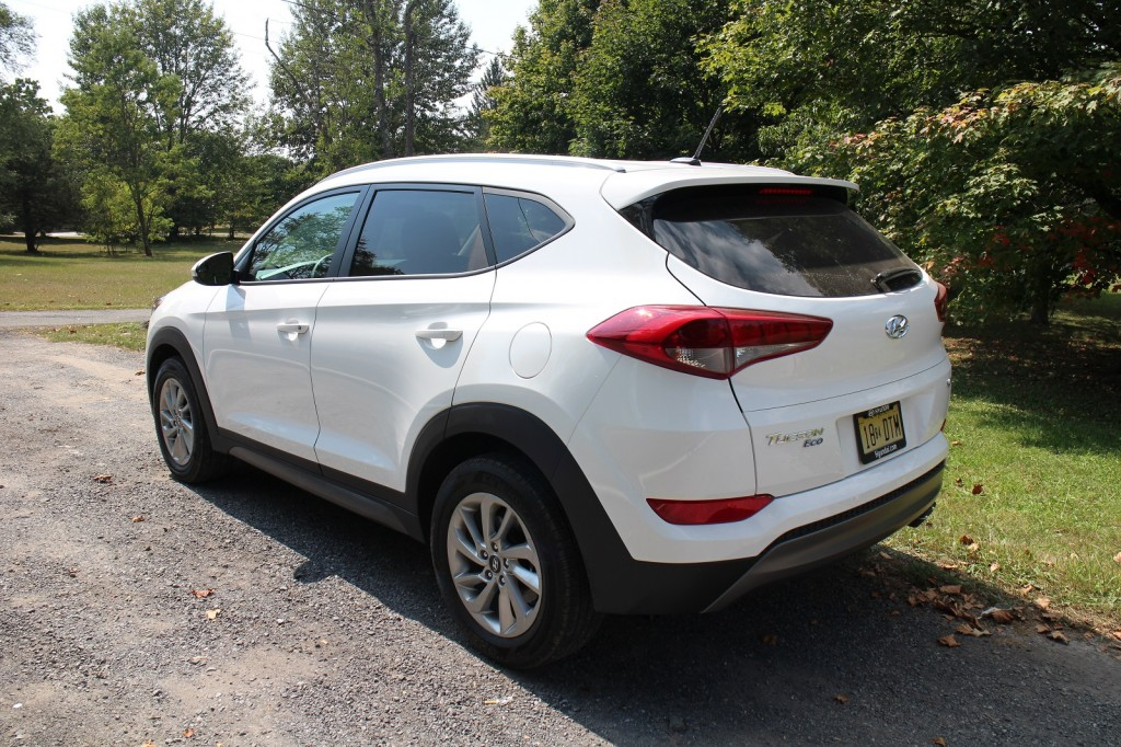 2016 Hyundai Tucson Eco Gas Mileage Drive Of New Compact