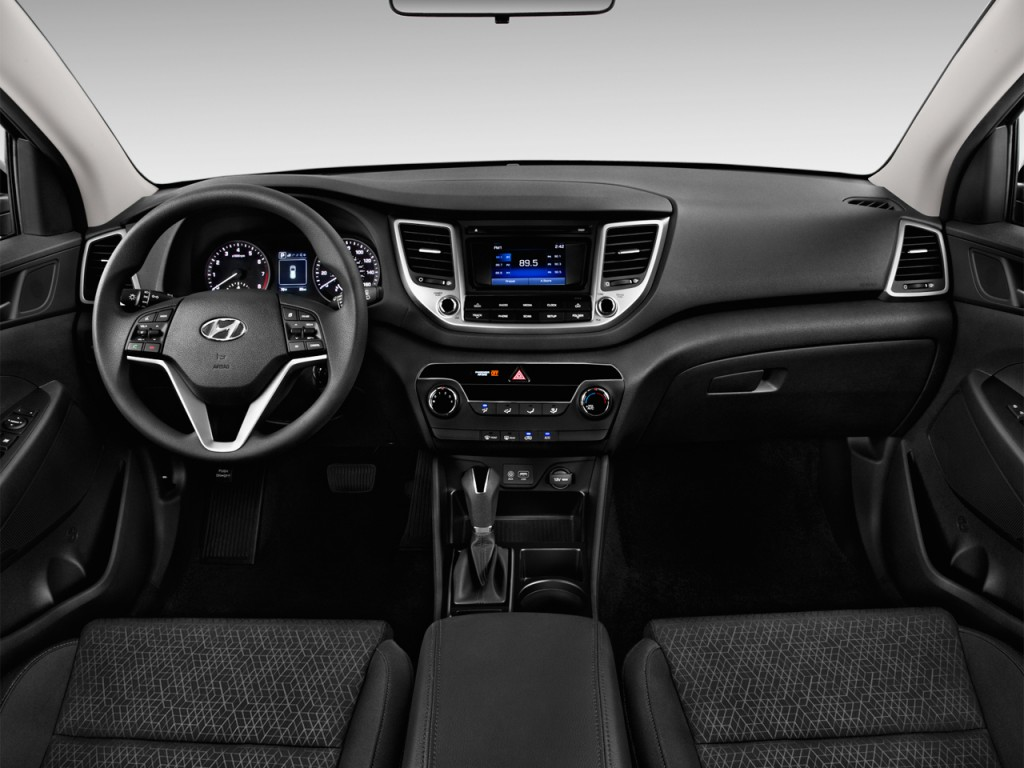 Image 2016 Hyundai Tucson Fwd 4 Door Se Dashboard Size 1024 X 768 Type Gif Posted On