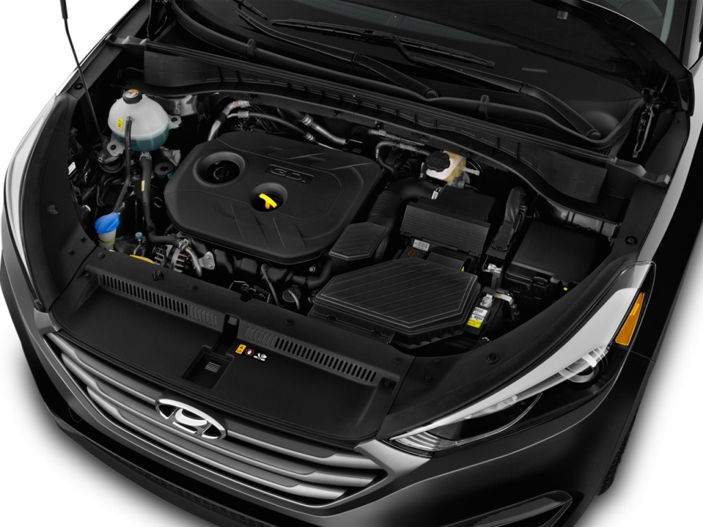 hyundai tucson engine se fwd door