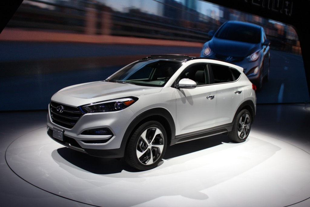 2018 Hyundai Accent Preview >> Image: 2016 Hyundai Tucson - 2015 NY Auto Show live photos ...