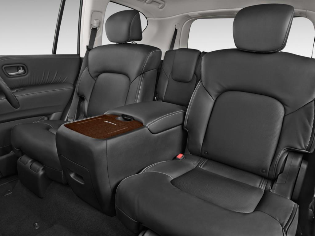 Image: 2016 Infiniti QX80 2WD 4-door Rear Seats, size ...