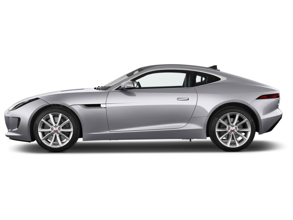 Image: 2016 Jaguar F-Type 2-door Coupe Auto RWD Side ...