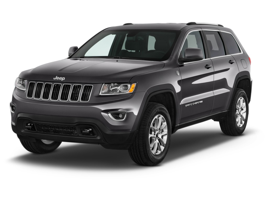 2016 jeep grand cherokee 4wd 4 door laredo angular front exterior view. Black Bedroom Furniture Sets. Home Design Ideas