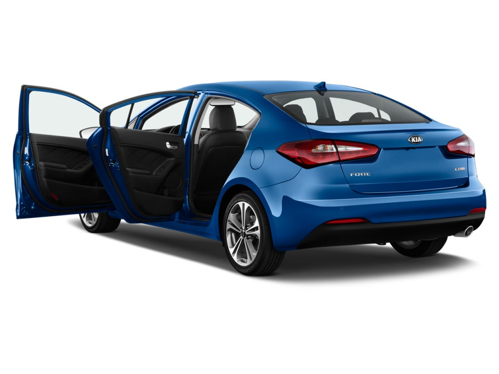 image 2016 kia forte 4 door sedan auto ex open doors. Black Bedroom Furniture Sets. Home Design Ideas