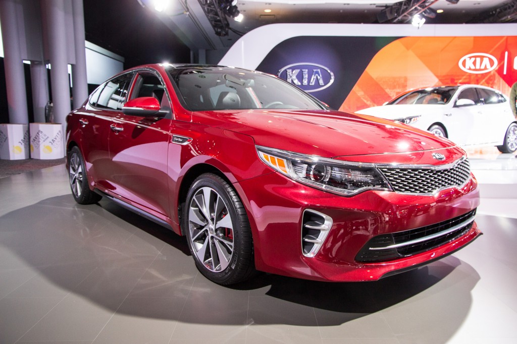 Excellent Image 2016 Kia Optima 2015 New York Auto Show Size