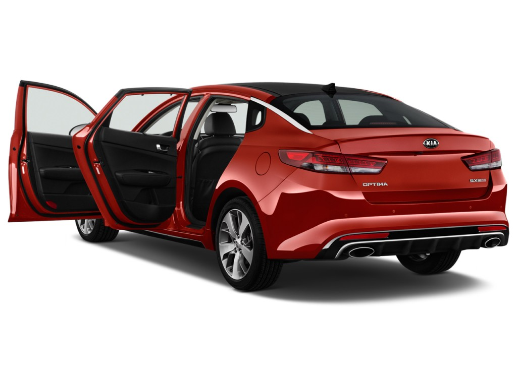 image 2016 kia optima 4 door sedan sx turbo open doors. Black Bedroom Furniture Sets. Home Design Ideas