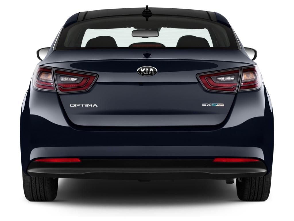 image 2016 kia optima hybrid 4 door sedan ex rear exterior view size 1024 x 768 type gif. Black Bedroom Furniture Sets. Home Design Ideas