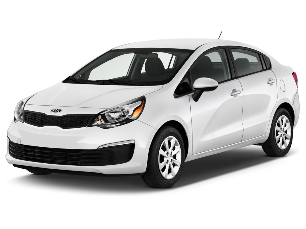 Image 2016 Kia Rio 4 Door Sedan Auto Lx Angular Front