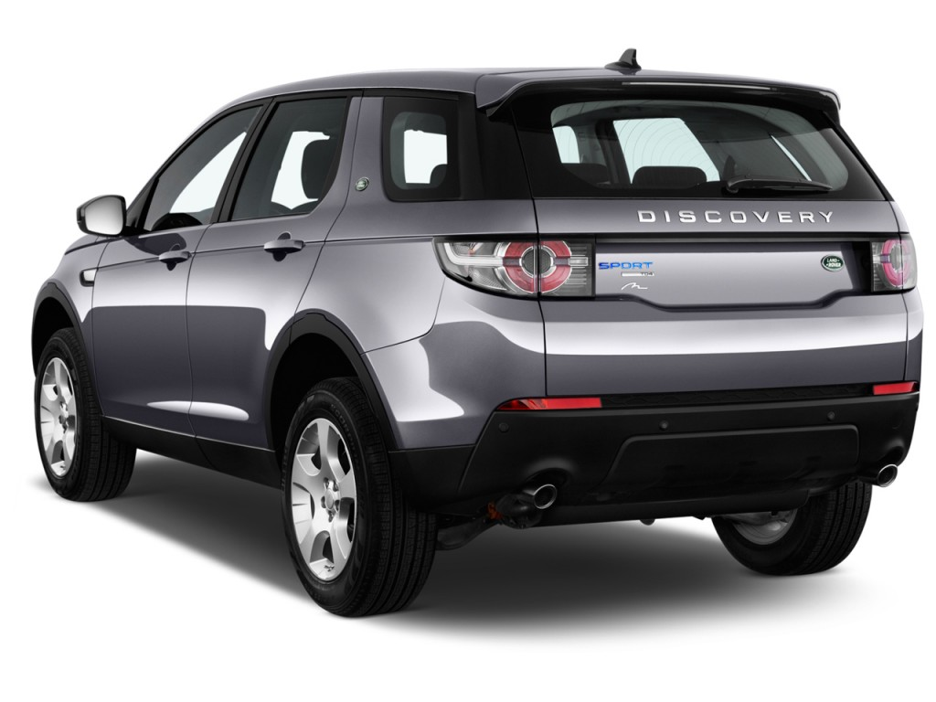 image 2016 land rover discovery sport awd 4 door hse lux angular rear exterior view size 1024. Black Bedroom Furniture Sets. Home Design Ideas