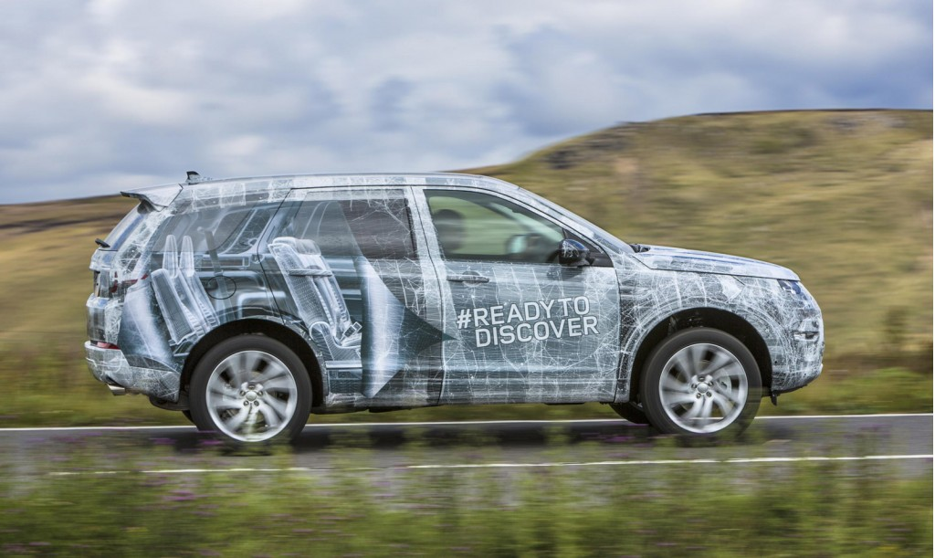 2016 Land Rover Discovery Sport teaser