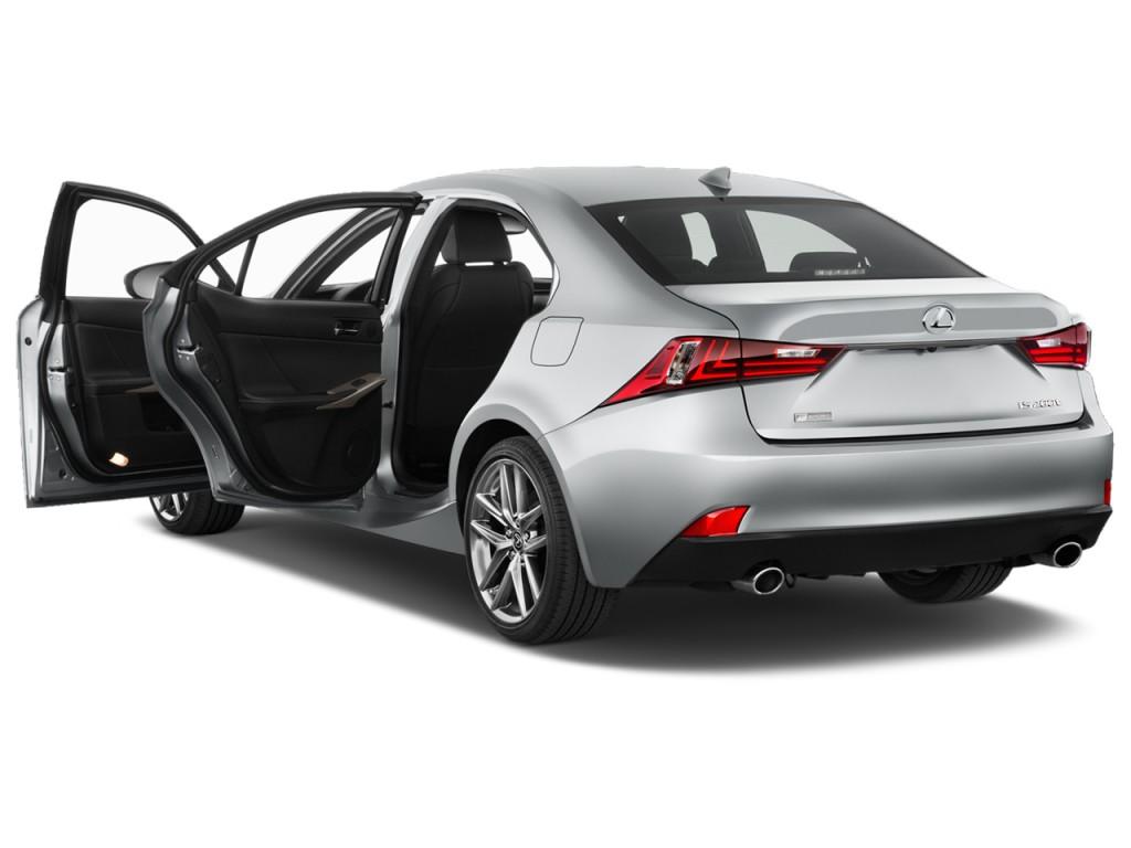 Image: 2016 Lexus IS 200t 4-door Sedan Open Doors, size ...