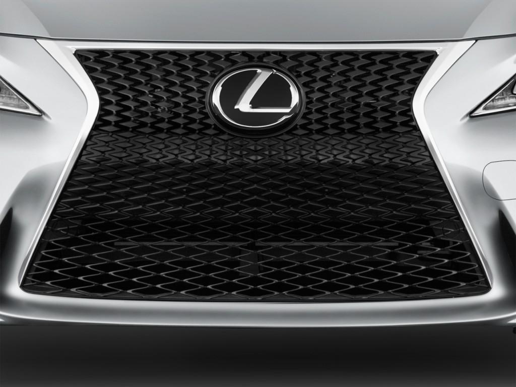 Image: 2016 Lexus IS 350 4-door Sedan RWD Grille, size ...