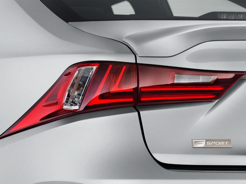 Image: 2016 Lexus IS 350 4-door Sedan RWD Tail Light, size ...