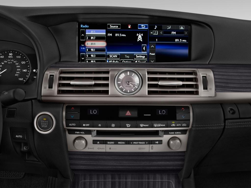 image 2016 lexus ls 460 4 door sedan rwd audio system size 1024 x 768 type gif posted on. Black Bedroom Furniture Sets. Home Design Ideas