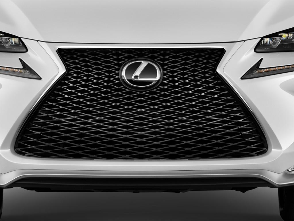 Image: 2016 Lexus NX 200t FWD 4-door F Sport Grille, size ...