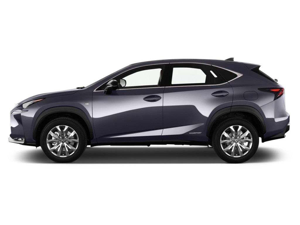 image 2016 lexus nx 300h awd 4 door side exterior view size 1024 x 768 type gif posted on. Black Bedroom Furniture Sets. Home Design Ideas